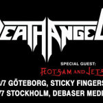 Death Angel and Flotsam & Jetsam @ Debaser Medis Stockholm - July 29, 2015