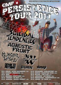 Persistence Tour 2017 - Agnostic Front, Suicidal Tendencies