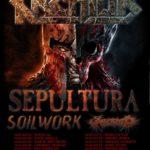 Kreator, Sepultura, Soilwork, Aborted @ Live Club Trezzo, Italy, Feb. 21, 2017