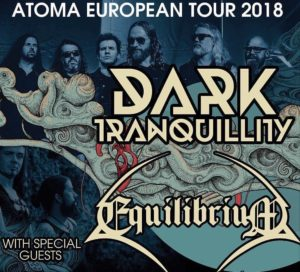 Dark Tranquillity @ Live Club, Trezzo, April 25, 2018